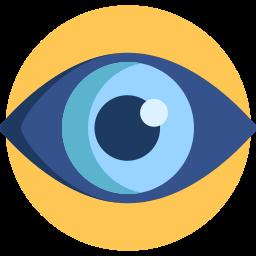 symbole visibilité de la position 0