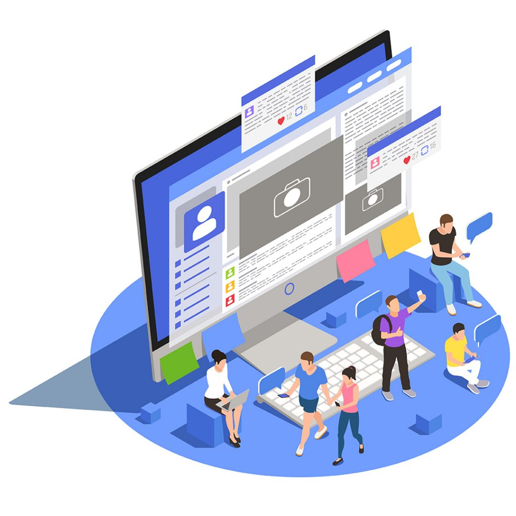 réseaux sociaux campagnes publicitaires
